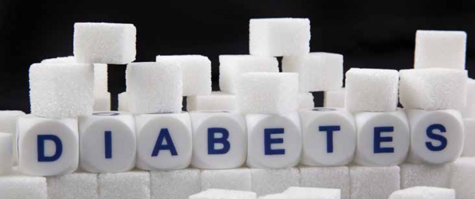 Diabetes Printed on Sugar Cubes